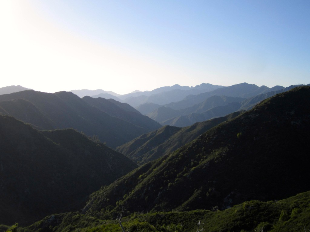 View from the Black Cone trail