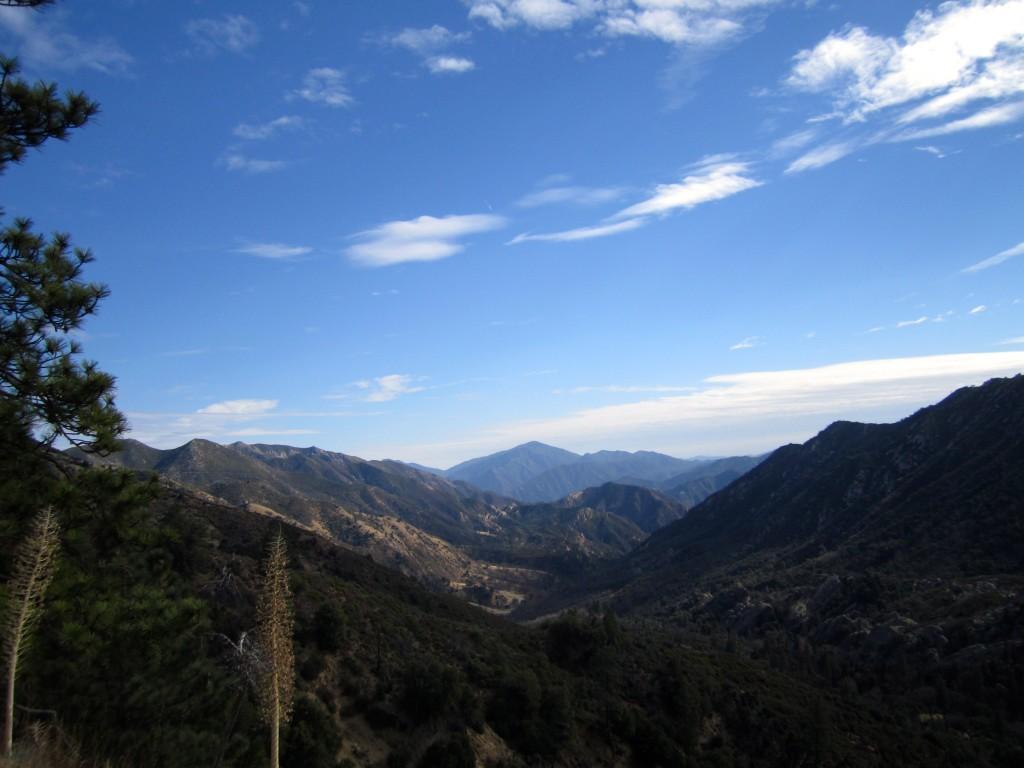 Looking south to Junipero Serra
