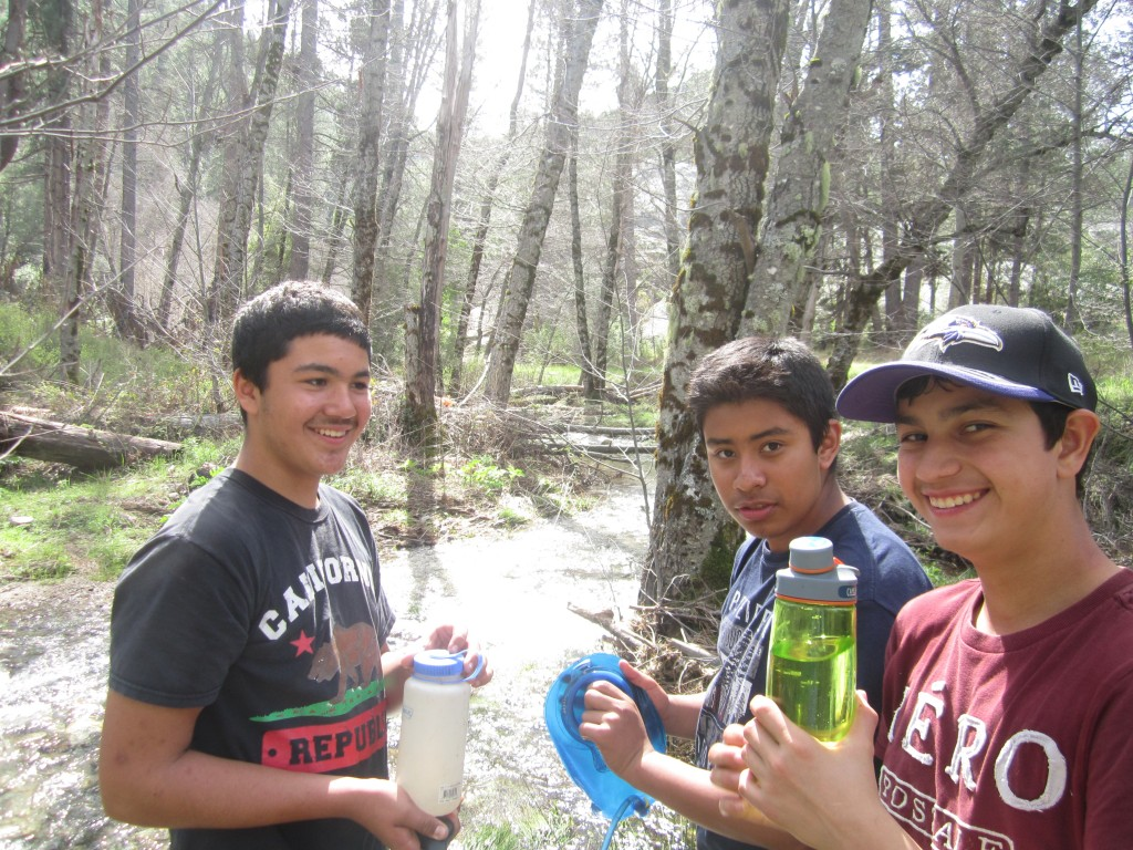 Pine Valley Creek water refill