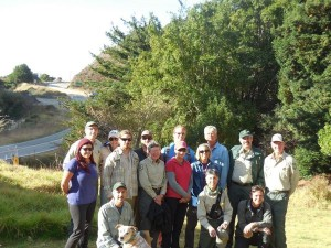 VWA staff & volunteers traveled from Santa Cruz, Monterey, Santa Barbara & San Luis Obispo Counties to meet for NPLD. Photo: Steve Benoit